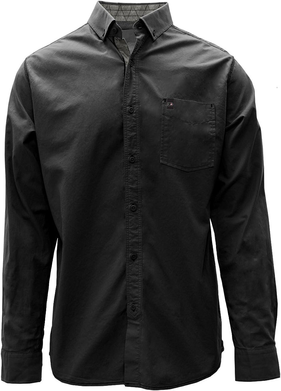 Levelwear LEY9R Fountain Woven Down Shirt スーパーセール期間限定 Cuff 保障 Button