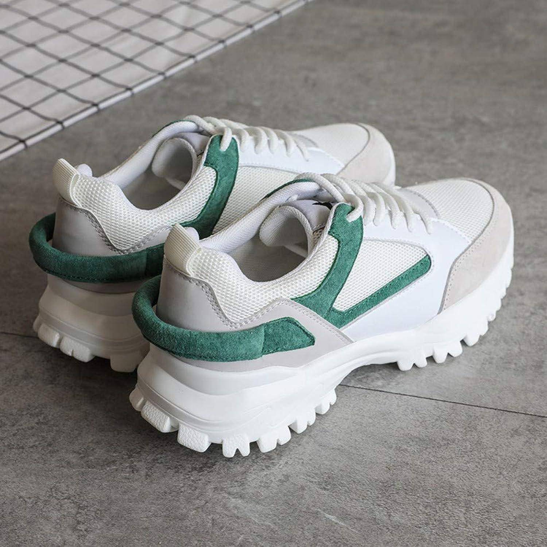 ZHIJINLI Sportschuhe Leichtathletik Schuhe Camping Schuhe Outdoor-Schuhe Tennisschuhe Trainingsschuhe leichte atmungsaktive Schock Splicing Farbe, 36EU  | Genial Und Praktisch