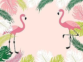 muzi Photography Hintergründe Flamingo Prinzessin Kinder Geburtstag Party Banner Hintergrund Heimdekoration Baby Foto Booth Dessert Studio Requisiten, 200x 150cm w 293