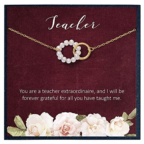 tarjeta a la mejor profesora de la marca Grace of Pearl
