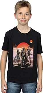 Star Wars Niños The Mandalorian Warriors Camiseta