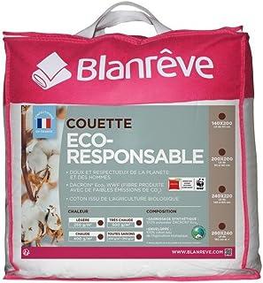 Blanrêve - Couette Eco Responsable - 260 x 240 cm - Légère 250g/m²