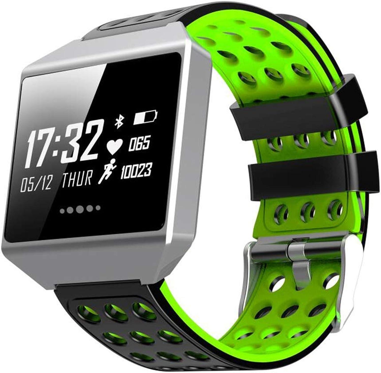 AQWWHY Mnner Smart Watch, Fitness Tracker Watch wasserdicht IP67 mit Herzfrequenzmesser, Kalorienzhler, Schlafmonitor, Zhler Schrittzhler Anruf SMS Push für iOS Android Phone