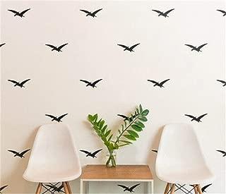yaunor Dinosaur décor Pattern Dinosaurs Pteranodon Wall Sticker Nursery Kids Home Dinosaur Room Decor for Boys