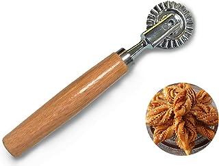 GRICHE Roulette à pâte pâtisserie orientale biscuit découpe pâte ravioli fruits et légumes, décoration, fait maison