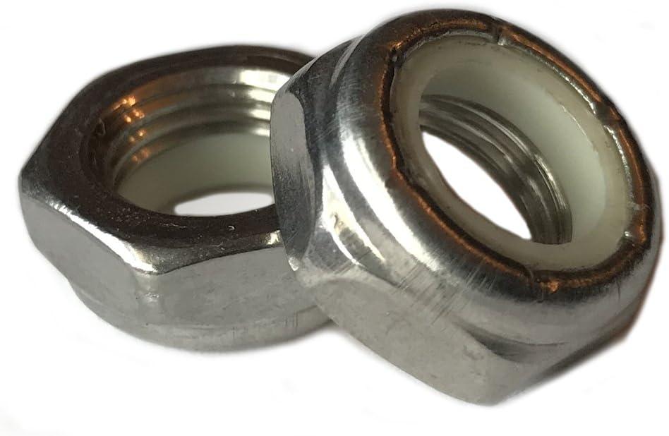 5 Pcs 5//8-11 Nylon Insert Lock Nut Thin//Jam//Half Thick NTE Series 5//8x11