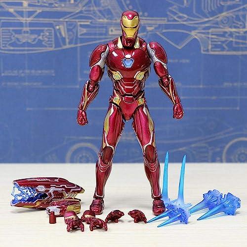 precioso RLJqwad Avengers 4 Marvel Toys Iron Man Estatua Estatua Estatua Superhéroe Iron Man Modelo 16cm Estatua Iron Man  venta al por mayor barato