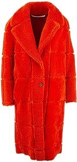 OFF-WHITE Luxury Fashion Womens OWJA020F19F920501900 Orange Coat | Fall Winter 19