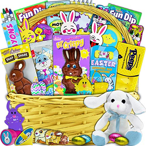 Yellow Easter Basket for Kids...