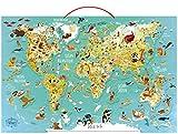 Carte du Monde Fantastique Magnétique éducatif
