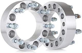ANGLEWIDE 4PCS 5 Lug HBU Centric Wheel Spacers Adapters 5x150 14x1.5 110 1 Compatible with 1998-2007 Lexus LX470 2008-2016 Lexus LX570 1998-2016 Toyota Land Cruiser