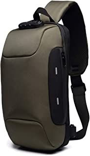 Tricherry Anti-Theft Backpack - 3-Digit Lock Shoulder Bag Oxford Cloth Waterproof for Mobile Phone Travel Theft Business Laptop Backpack Card Slot and Back Pocket