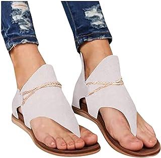 smilebuy Sandales Plates Femmes Confortables Orthopedique Chaussures Plateforme - 2021 Newest Été Sandales Femmes Sandales...