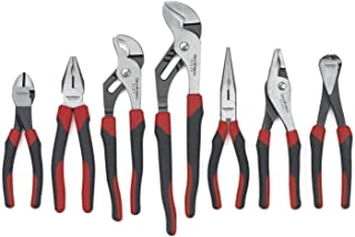 GEARWRENCH  7 Pc. Mixed Plier Set, Dual Material - 82108