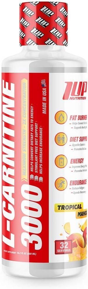 L-Carnitine excellence Daily bargain sale 3000 #1 Non Stimulant Converts Fat Stored Burner