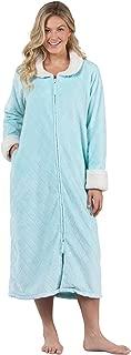 Fleece Robes for Women - Zip Up Robe