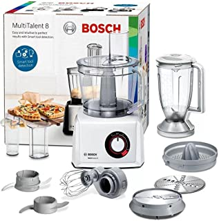 Bosch Food Processor MultiTalent 8 1100 Watts - White - MC812W620