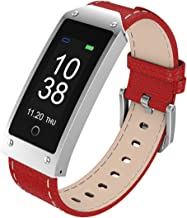 BTwear Fitness Tracker, Y2 Waterproof Smart Wristband with Heart Rate and Blood Pressure Monitor for Android and iOS Smartphone