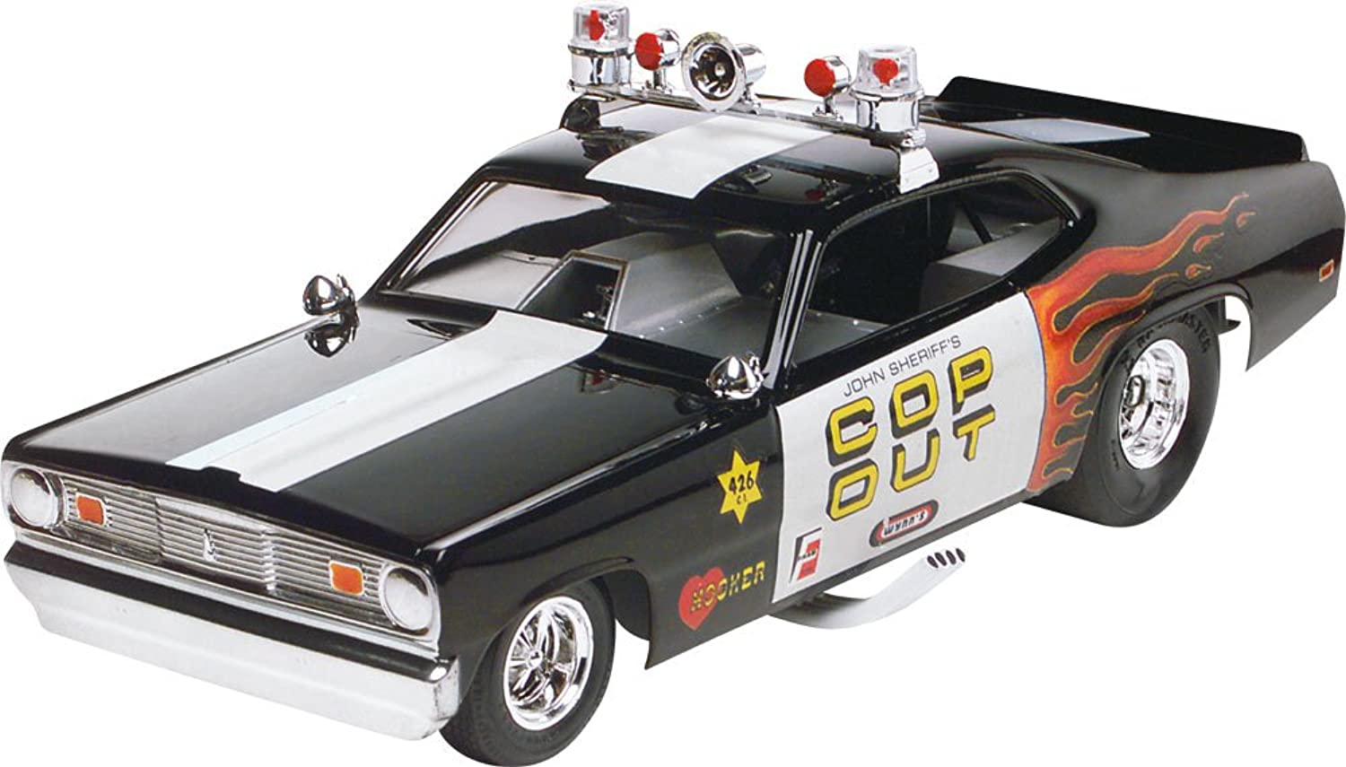 Monogram Plymouth Duster CopOut Plastic Model Kit