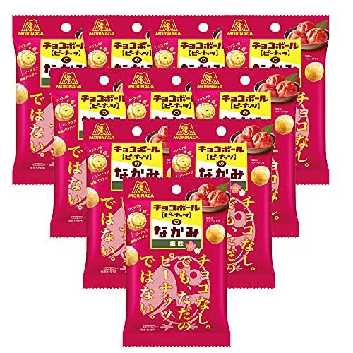 森永製菓 チョコボールのなかみ 梅味 36g×10個