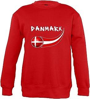Supportershop Denmark jongens sweater