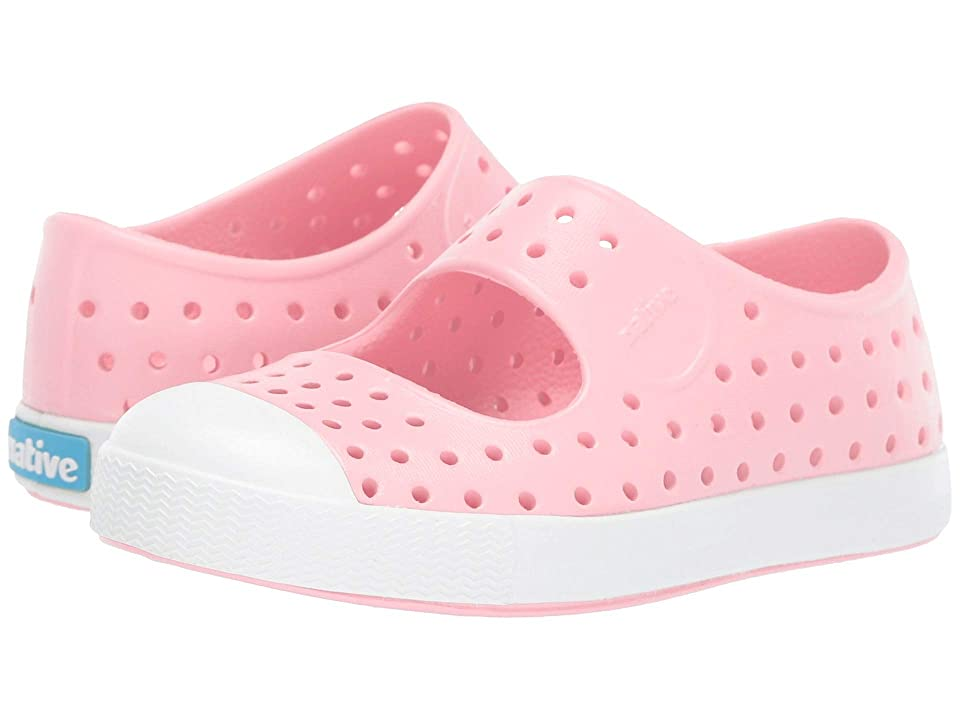Native Kids Shoes Juniper (Toddler/Little Kid) (Lantern Pink/Shell White) Girls Shoes