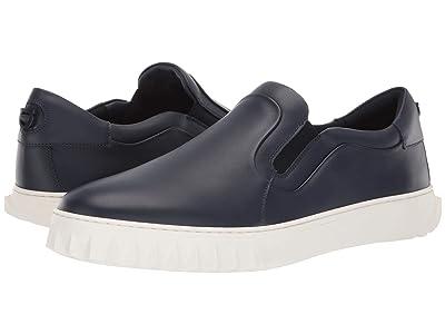 Salvatore Ferragamo Cruise Sneaker (Blue Marine) Men