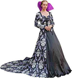 CosplayDiy Women's Dress for Once Upon A Time 3 Regina Mills Cosplay