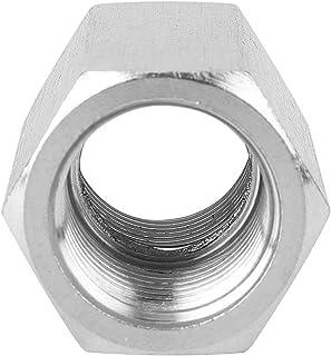"""Roestvrijstalen staafadapter die past Nauwkeurige schroefdraad zeskantmoer voor pijpverbinding voor gasleiding(1/4"""")"""