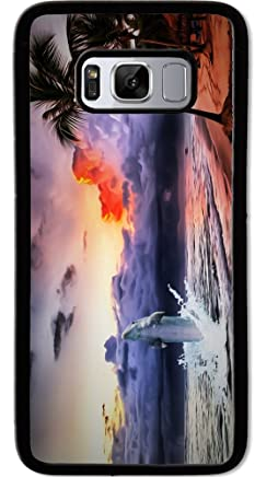 For Samsung Galaxy S8 PLUS - Dolphin Oasis Case Phone Cover