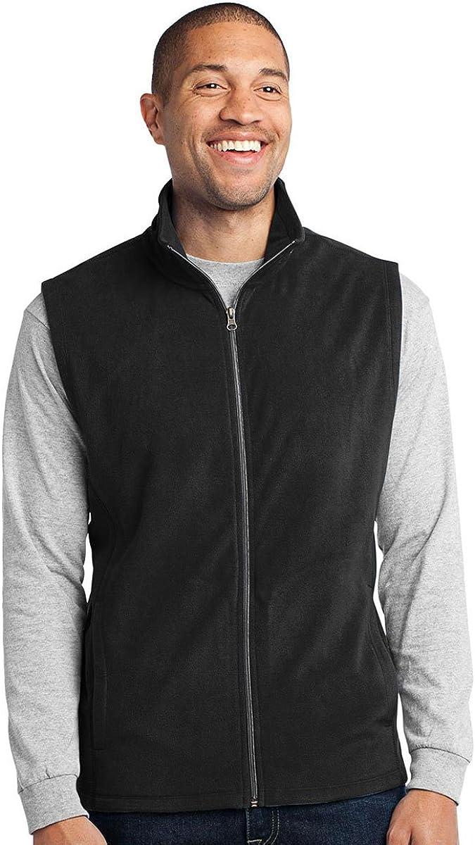 Port Authority Men's Extra Soft Microfleece Vest - Black F226 2XL
