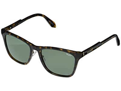 QUAY AUSTRALIA Reckless (Tort/Green) Fashion Sunglasses