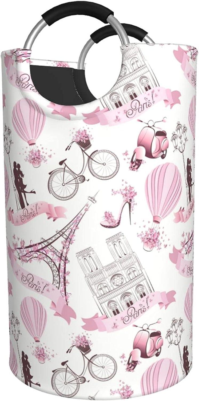 supreme Romantic Paris Butterfly Branded goods Eiffel Hamper Waterproof Print Laundry