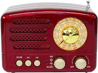GoolRC M-160BT USB BT Small Portable Radio Portable BT Speaker Retro Radio Vintage Radio
