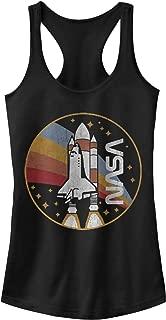 NASA Juniors' Rainbow Launch Racerback Tank Top