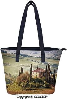 SCOCICI Tuscany Seen From Stone Fashionable Women Leather Handbags