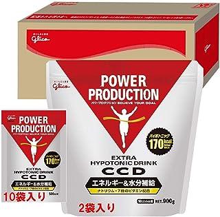 グリコ パワープロダクション エキストラ ハイポトニックドリンク CCD グリコボックス入り 2,250ℊ (大袋10ℓ用 900ℊ 2袋 & 500㎖用 45ℊ 10袋) ドリンク パウダー 熱中症対策 ⑦