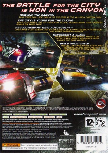 Need for Speed: Carbon (Xbox 360) [Import UK]