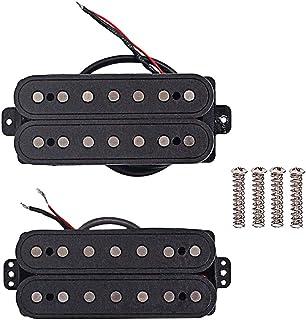 Artibetter 7 cuerdas alnico humbucker cuello pickup doble bobina puente pickup