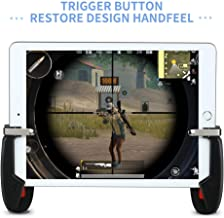 Mobile Game Controller for iPad, weini Tablet Game Trigger Fire Button Aim Key Gamepad L1R1 Controller for PUBG/Knives Out, Support 4.5-12.9 inch Tablet & Smartphone(1 Pair)