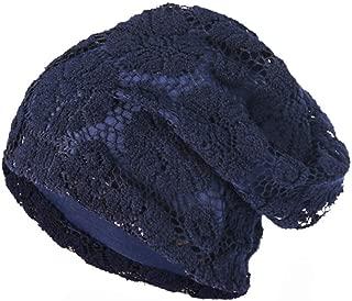 Muranba Clearance Women Lace Floral Winter Warm Beanie Caps Hat