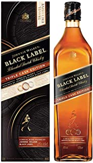 Johnnie Walker BLACK LABEL Blended Scotch Whisky TRIPLE CASK EDITION 1 x 1 l 22353