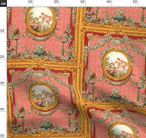 Barock, Rokoko, Rahmen, Romantisch, Marie Antoinette, Liebe Stoffe - Individuell Bedruckt von...