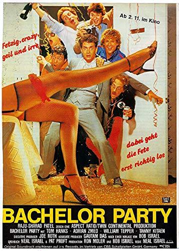 Bachelor Party (1984) | original Filmplakat, Poster [Din A1, 59 x 84 cm]