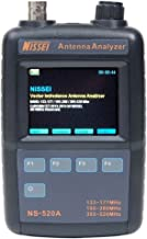 Fumei NS-520A Vector Impedance Antenna Analyzer with Single Frequency Mode/Scan Frequency Mode and Clear LCD Display Even Under Daylight for Antenna Measurement and Adjustment