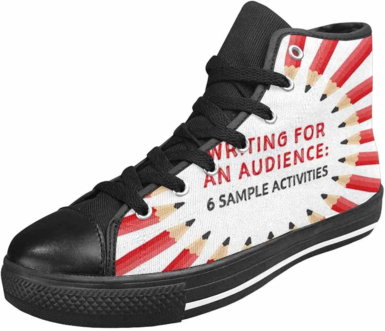 VIC Men's Classic Canvas shoes Sneakers High Top Lace Up Lightweight