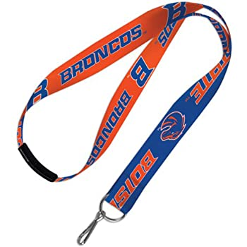 Swamp Fox Boise State Broncos Paracord Lanyard with Team Charm and Keychain Release/… Neck Clasp