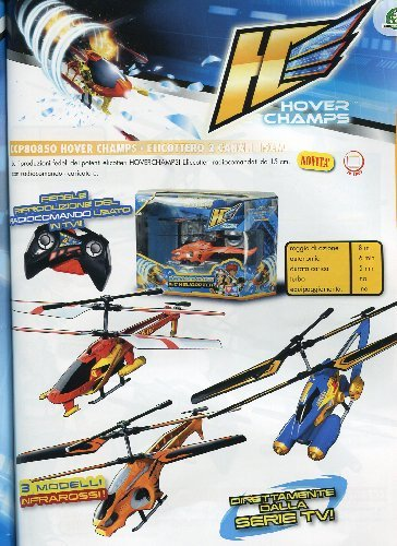 Giochi Preziosi - Helicóptero radiocontrol Hover Champs (85850)