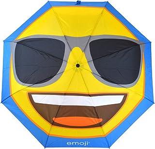 Official Emoji® Brand Sunglasses Umbrella Windproof, Premium Quality Waterproof Protection, Lightweight, Heavy Duty, Compa...
