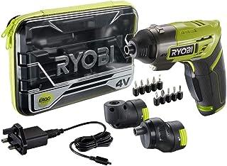 Ryobi ERGO-A2 4V Cordless Screwdriver Kit, Amazon Exclusive